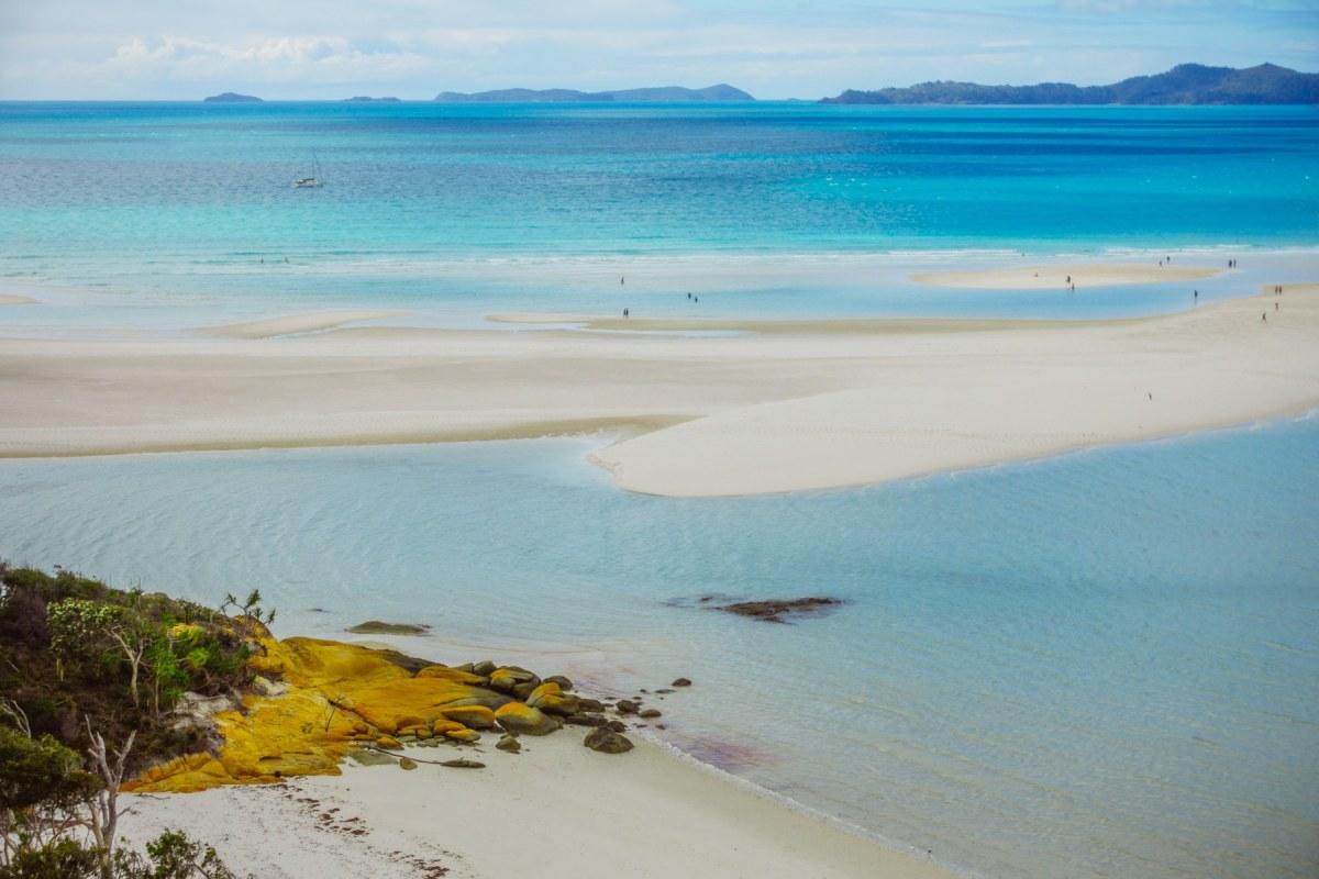 de whitsunday eilanden