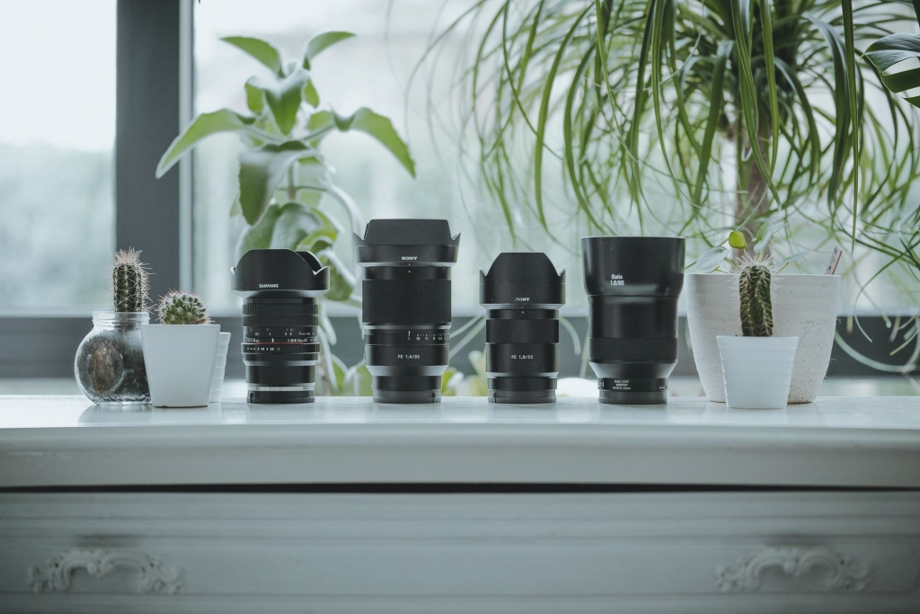 Sony a7rii camera en lenzen