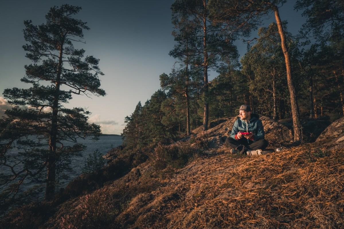kanotour zweden