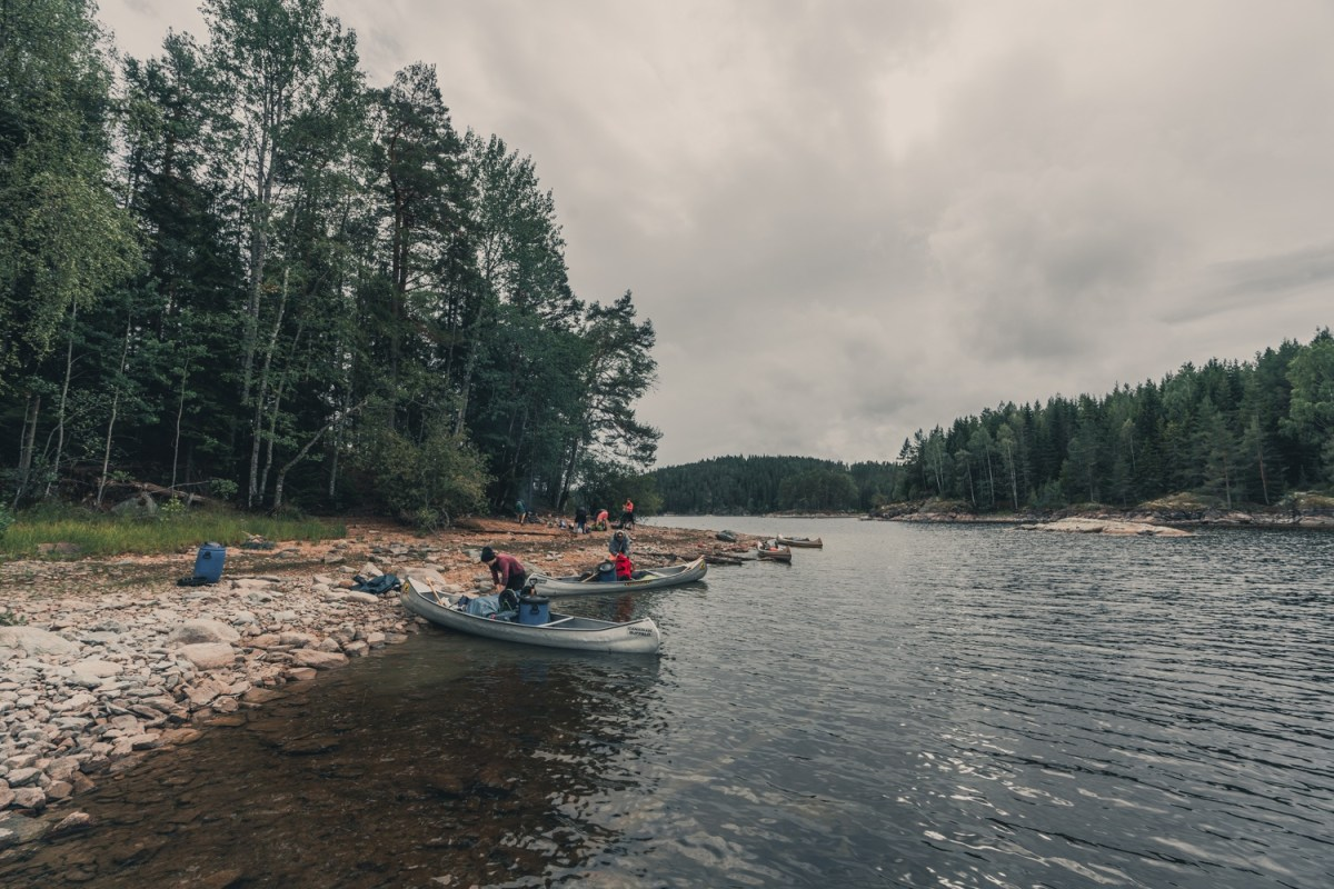 mooiste kanotocht zweden