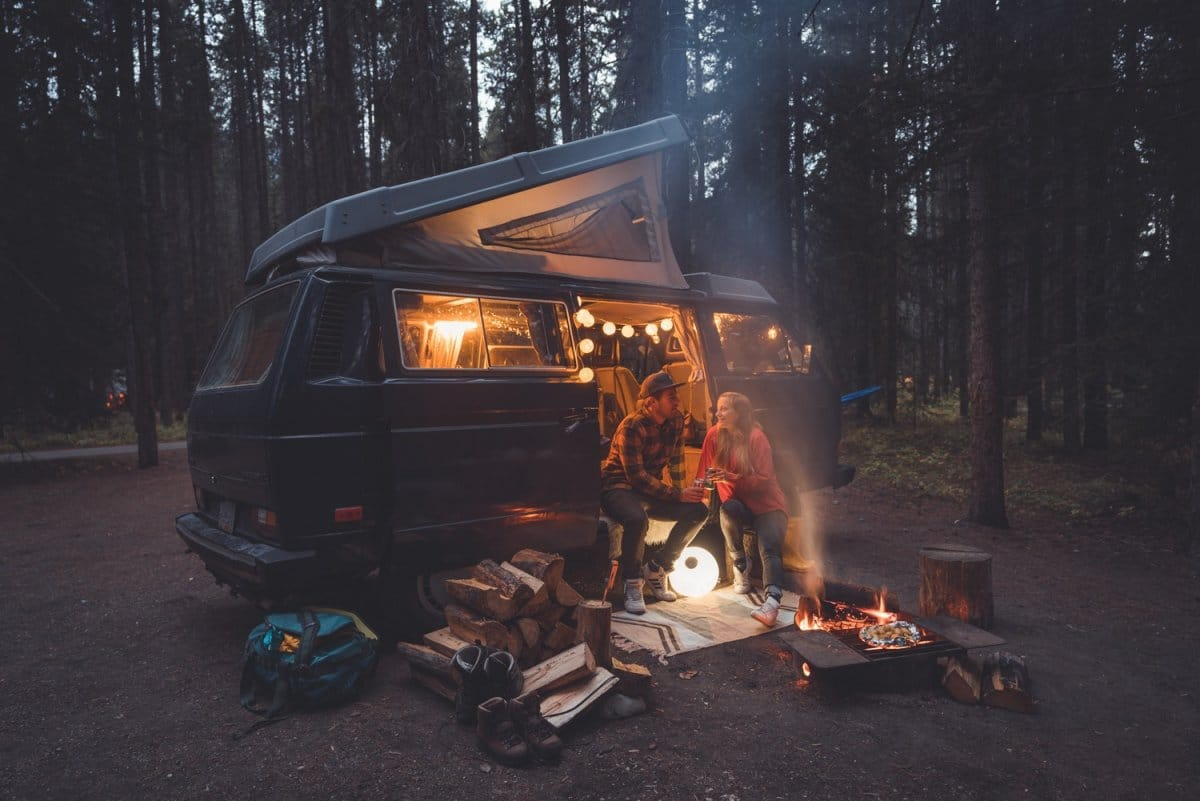 kamperen in canada