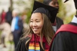 Student graduating