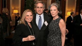Margo Bazell, Robert Bazell and Deeda Blair