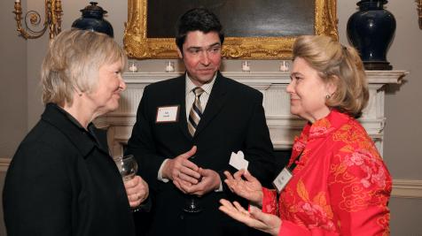 Judy Olukotun, Jim Smith, and Kate Sedgwick