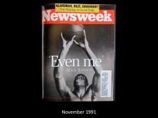 Newsweek Cover November 1991