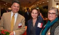 Samuel Santander, MPH '89; Alexandra Greenberg-Worisek, MPH '15; Jean Greenberg, PhD '89