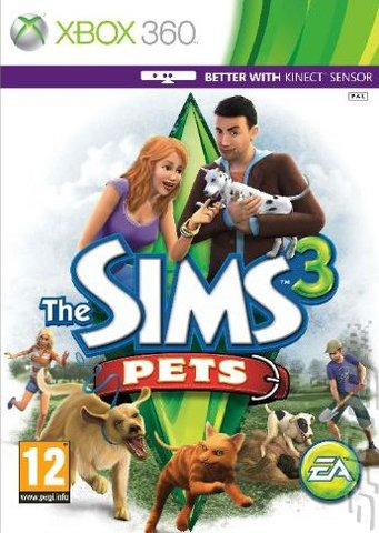 The Sims 3 Pets Xbox 360   - The Sims 3 Pets (Region Free) XBOX 360