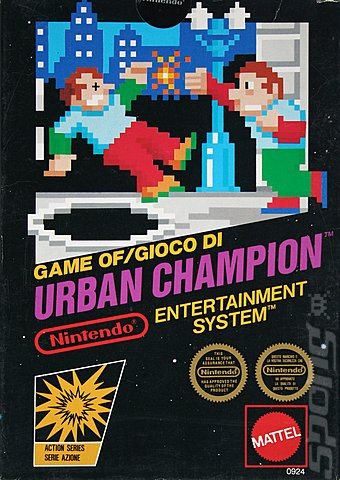 Covers Amp Box Art Urban Champion Nes 1 Of 1