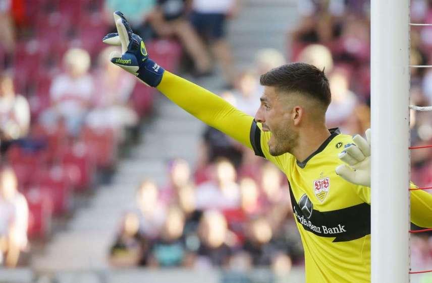 Can Fabian Bredlow lead the defense of VfB Stuttgart in Mönchengladbach on Saturday?  Photo: Baumann / Hansjürgen Britsch