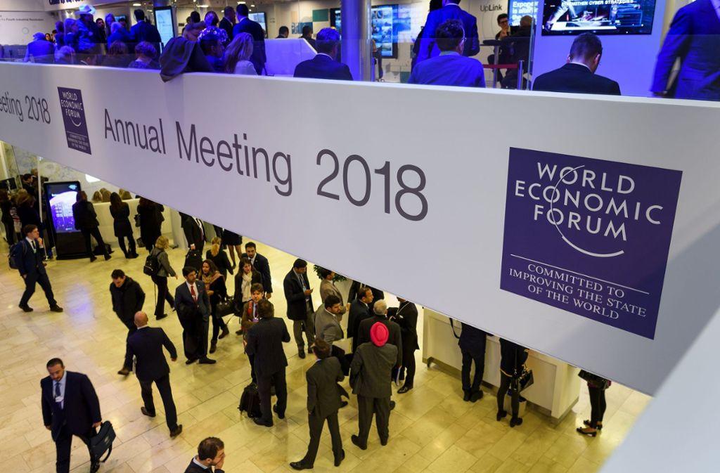 Weltwirtschaftsforum Politiker Sprechen Sich F 252 R