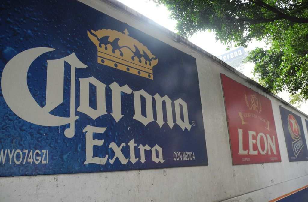 biermarke corona brauerei in mexiko