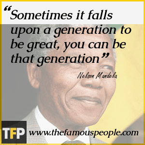 Nelson Mandela...The Servant Father of South Africa In His Own Words