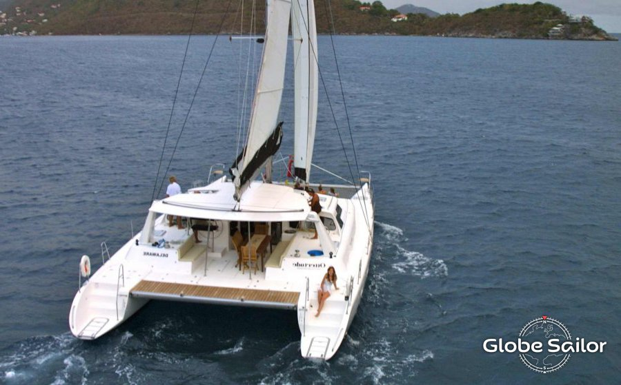 Rental Voyage 520 From The Charter Base Tortola In British