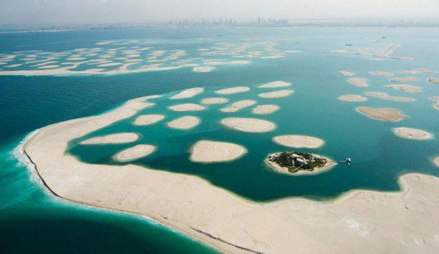 Dubais Islands Are Sinking Back Into The Sea The Inertia