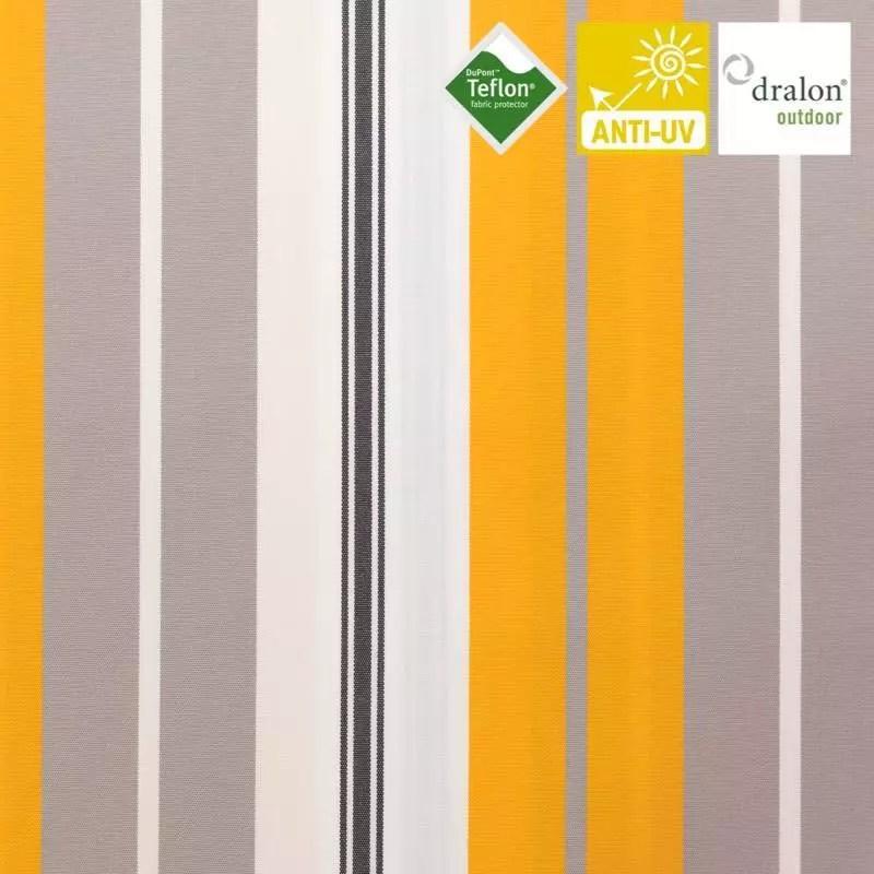 toile exterieure teflon grande largeur bonifacio jaune