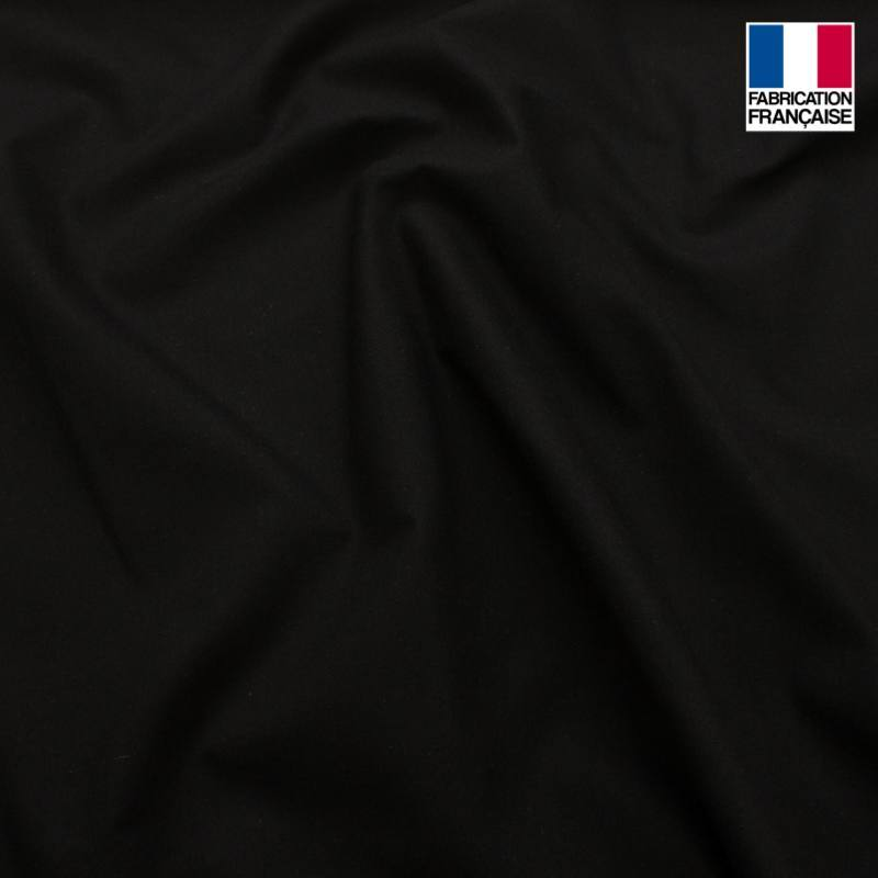 toile coton ignifugee m1 noir