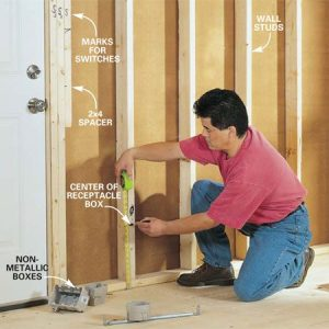 How to RoughIn Electrical Wiring | The Family Handyman
