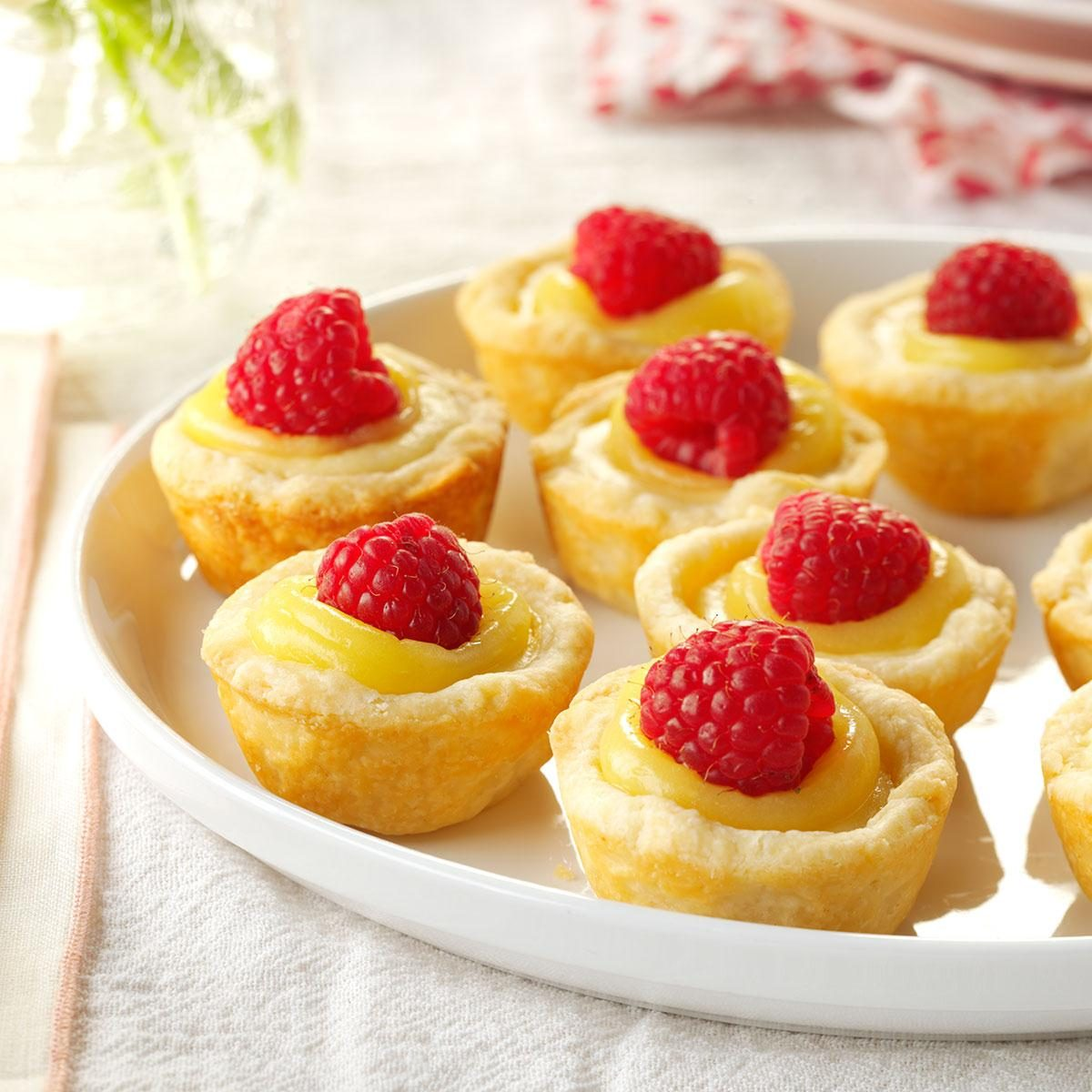 Mini Lemon Cheesecake Tarts Recipe
