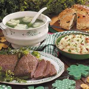 Traditional St Patricks Day Meal Celebration Taste Of Home