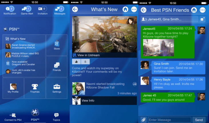 PS4 App 730x431 Sony updates its iOS and Android Playstation companion apps, two days before PS4 launch