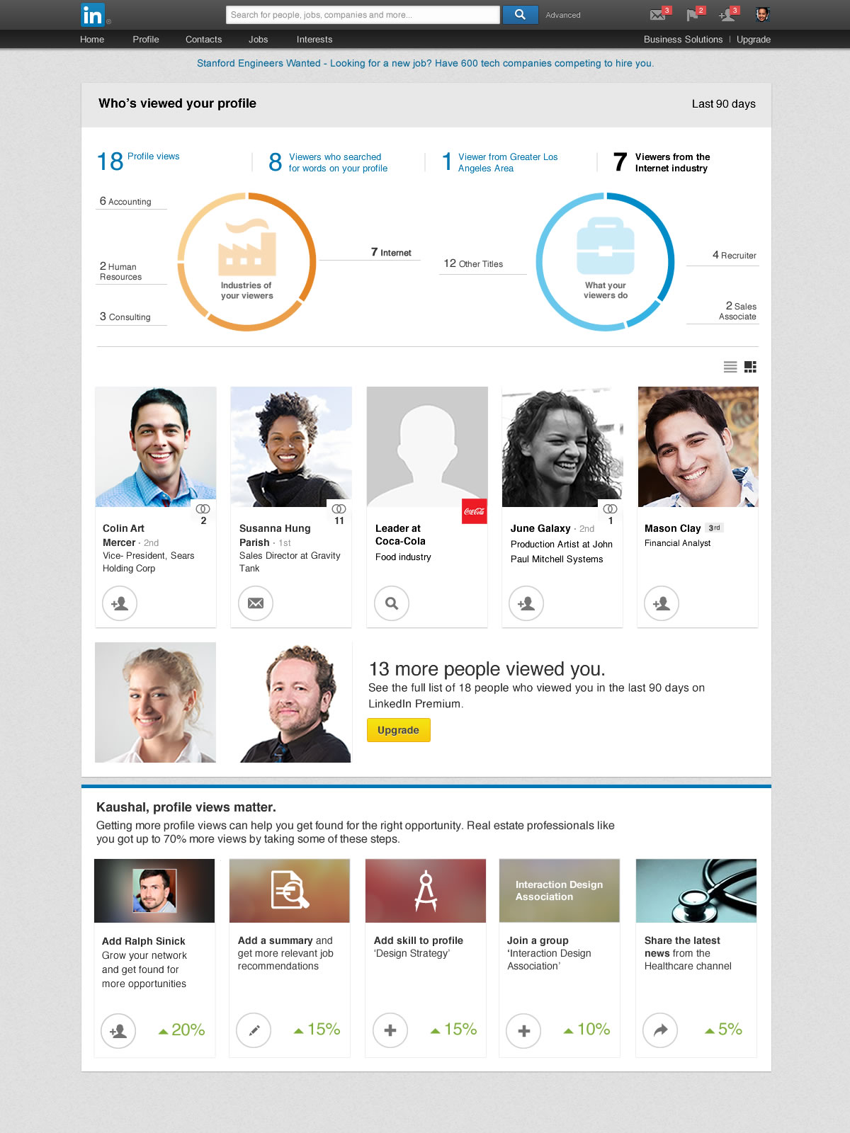 LinkedIn revamps Whos Viewed Your Profile feature with analytics and insights to help you boost your visibility