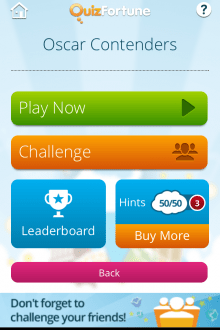 e 220x330 QuizFortune for iPhone brings individual gameplay to the social trivia app mix