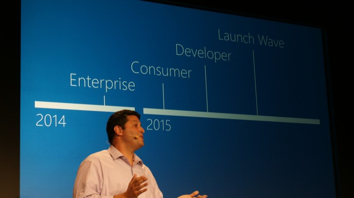 Microsoft 2014 103 730x409 Microsoft announces Windows 10, promises mid 2015 release and Windows Insider Program tomorrow