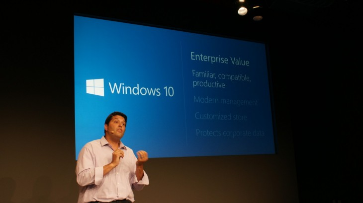 Microsoft 2014 15 730x409 Microsoft announces Windows 10, promises mid 2015 release and Windows Insider Program tomorrow