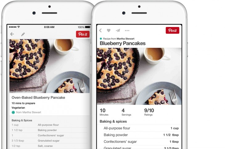 2014110305 730x486 Pinterest for iPhone gets design refresh, quicker load times