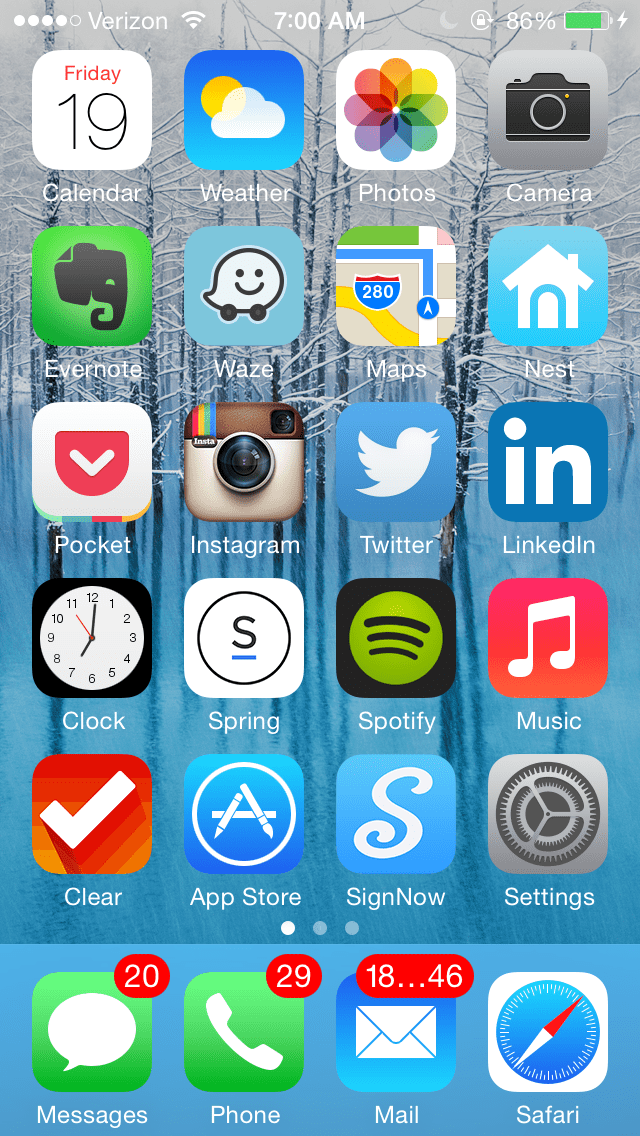 NeilHomeScreen 140919 What's on your home screen? Checking in with Warby Parkers Neil Blumenthal