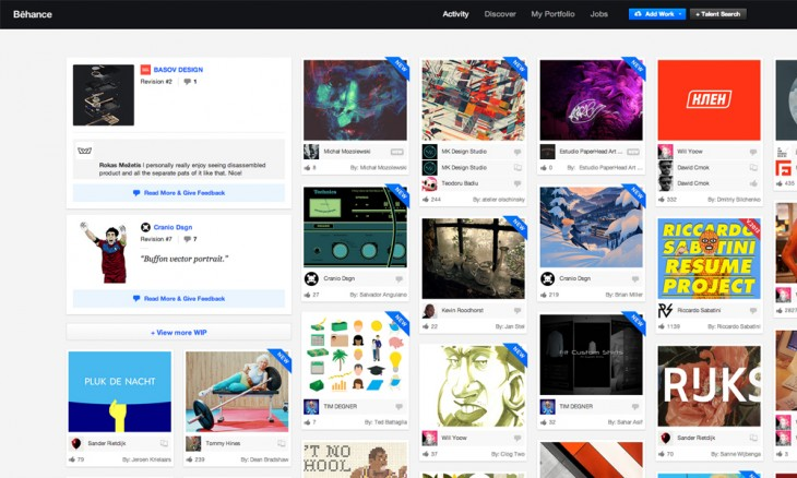 behance 730x438 40 free resources every designer should know