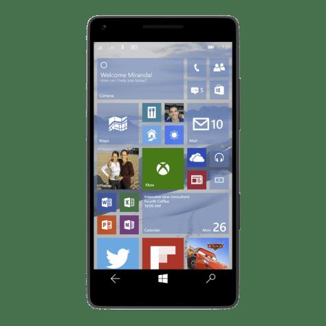 Microsoft Windows 10 para moviles