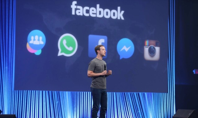 f8 day1keynote Facebook has officially declared it wants to own every single thing you do on the internet