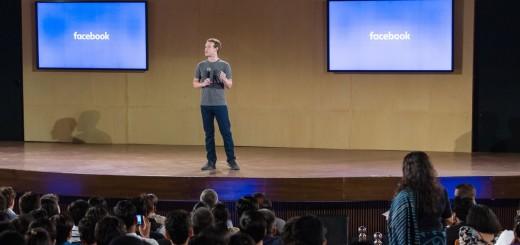 Mark Zuckerberg at IIT New Delhi, Facebook