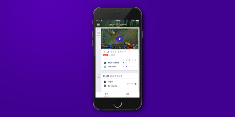 Yahoos Latest IOS App Brings You Esports News And Scores