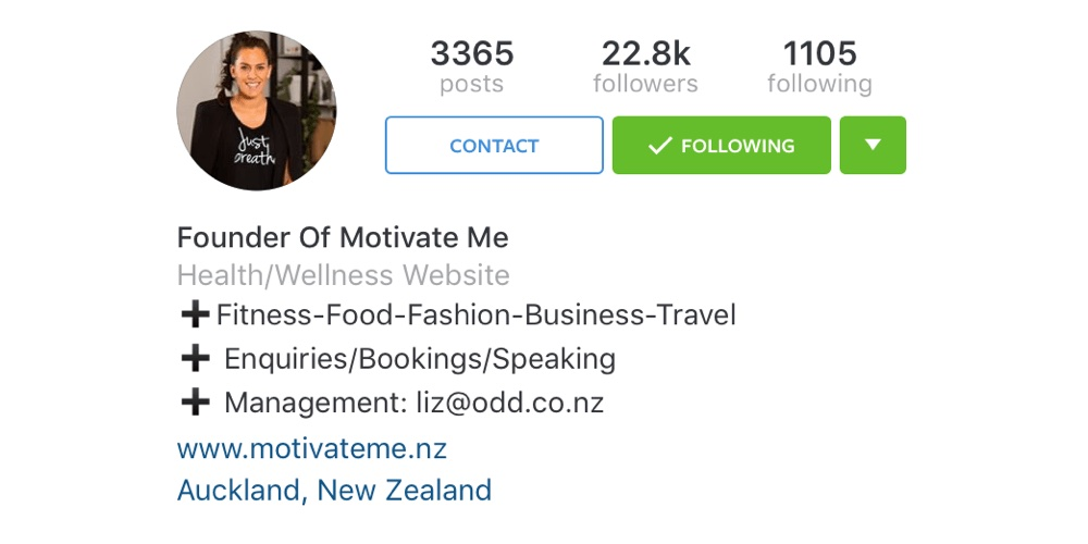 This Is What Instagram S New Business Profile Looks Like