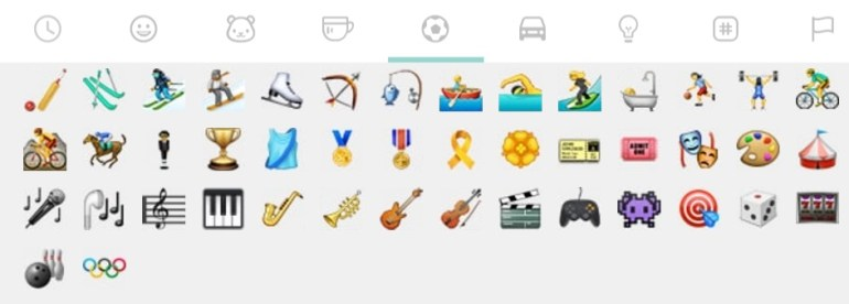WhatsApp added Olympic Emoji in his New Update
