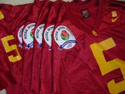 Reggie Bush 2006 Rose Bowl Jersey