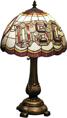 USC Stained Glass Lamp