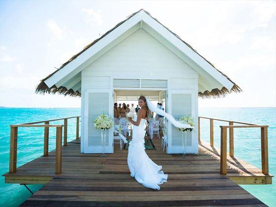Sandals South Coast Jamaica Caribbean Wedding Tropical Sky