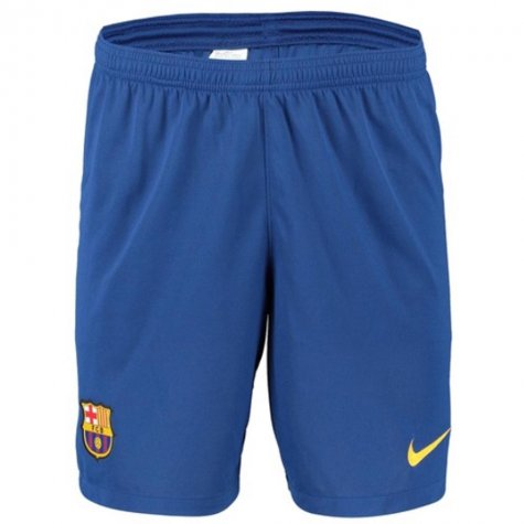2019 2020 Barcelona Home Nike Football Shorts Blue