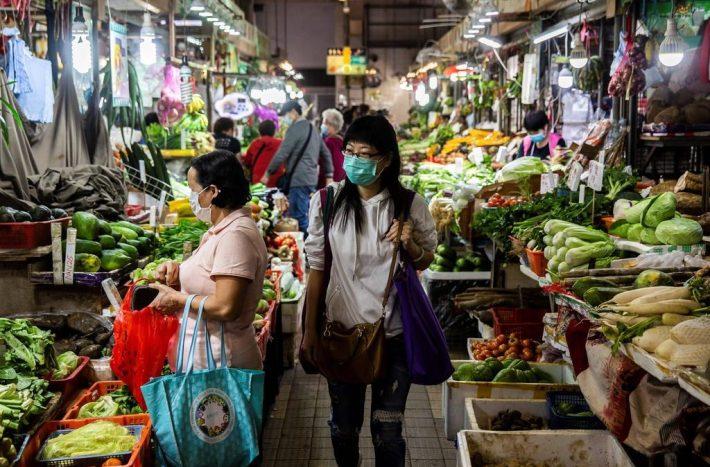 alimenti biologici in Cina