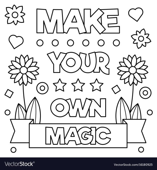 make your own coloring page # 9