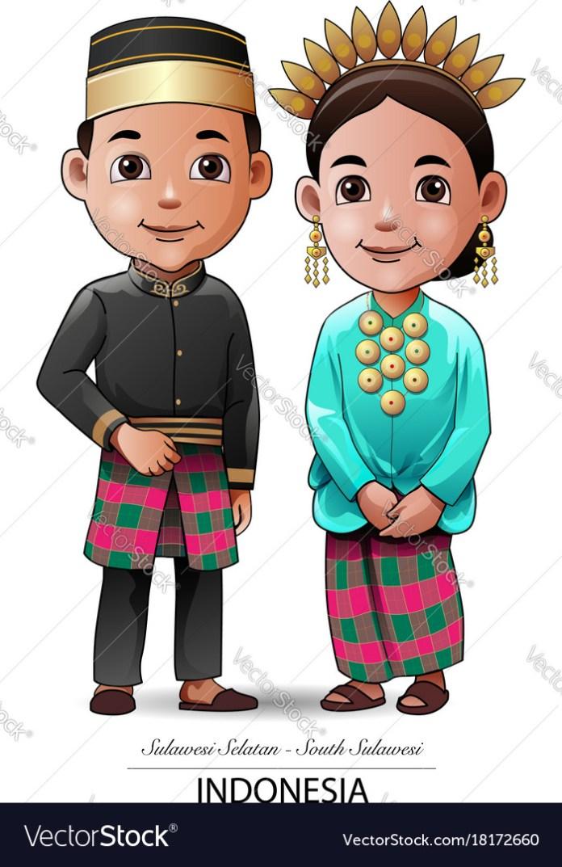 Kebaya Traditional Vector Images 30