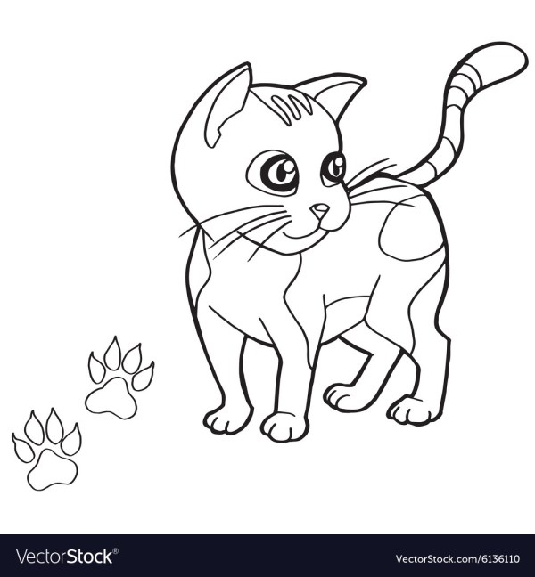 free cat coloring pages # 48