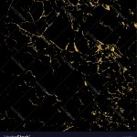Grunge Marble Texture Black Gold Royalty Free Vector Image