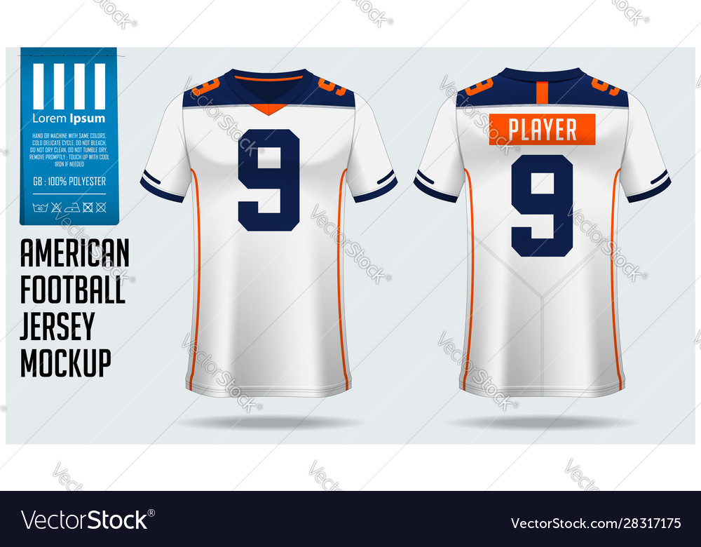 Download 1.567+ American Football Jersey Mockup Free - freemockup