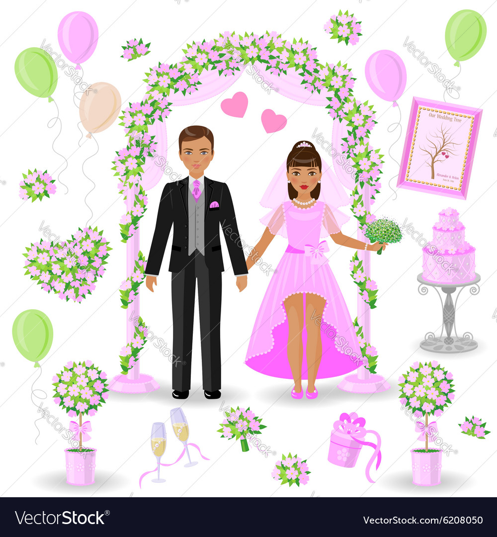Wedding Decorations In Pink Color