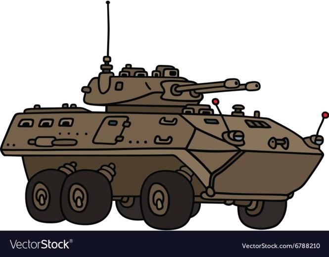 Wheeled Armoured Vehicle Rosomak Basic Version Source Own Elaboration