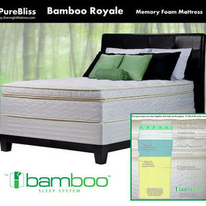 Purebliss Bamboo Royale Memory Foam Mattress